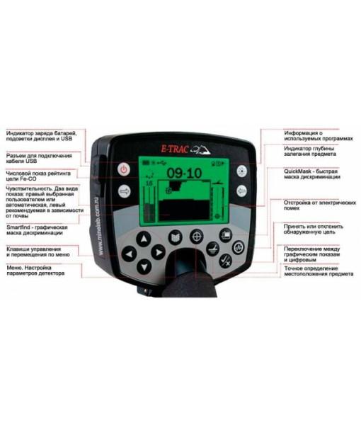 Металлодетектор Minelab E-Trac (комплектация Pro)