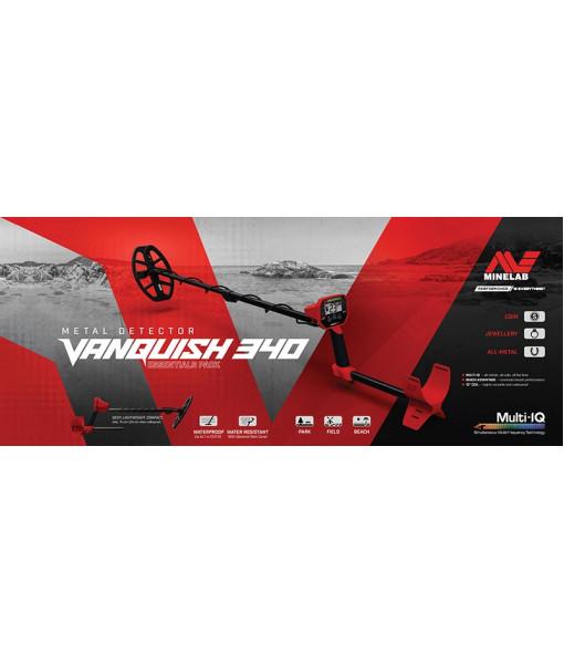 Купить металлоискатель Minelab VANQUISH 340 (мультичастотная технология Multi IQ)